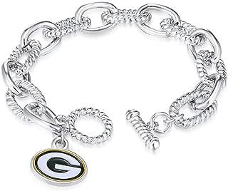 NFL Chain Link Logo Bracelet