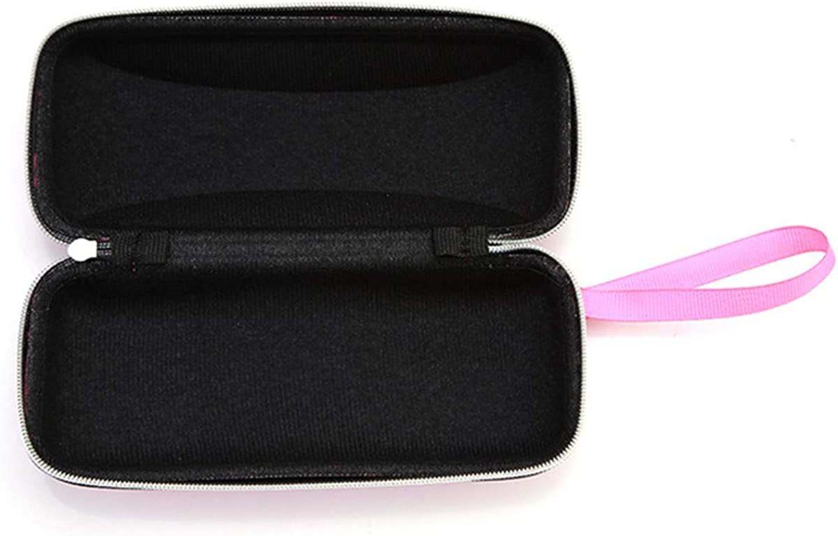 Winwinfly Solid Color Sunglasses Cover With Zipper Lanyard Hard Glass Box Eyeglass Box