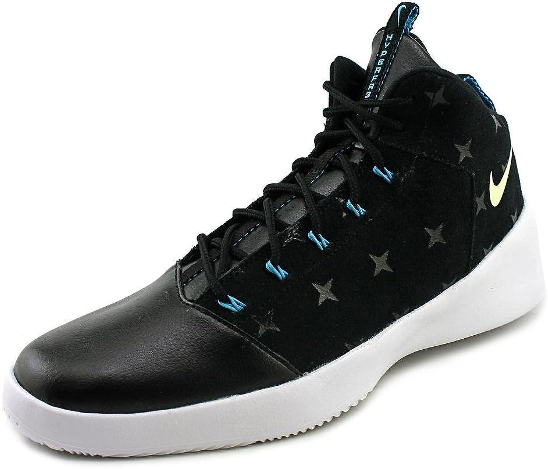 Nike Hyperfr3sh Print N7 Men US 9.5 Black Basketball shoes