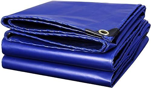 Qjifangfsh Bache, Multifonction Multiples Tailles, épaissir, écran Solaire Imperméable Extérieur Imperméable, Bleu (Taille   4m5m)