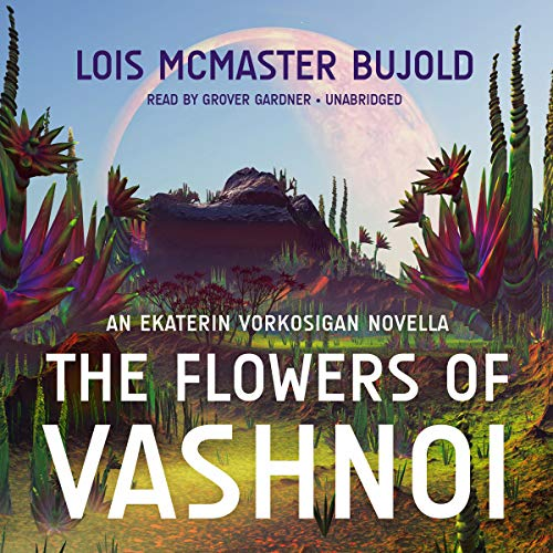 The Flowers of Vashnoi audiobook cover art