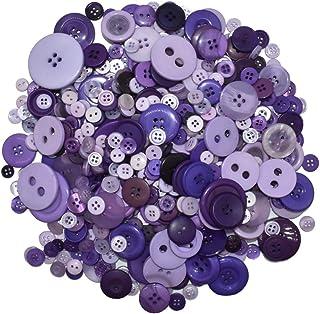 handpainted VINTAGE button Button large button designed art button purple 50mm