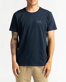 BILLABONG Die Cut Theme Short Sleeve T-Shirt XX Large Navy