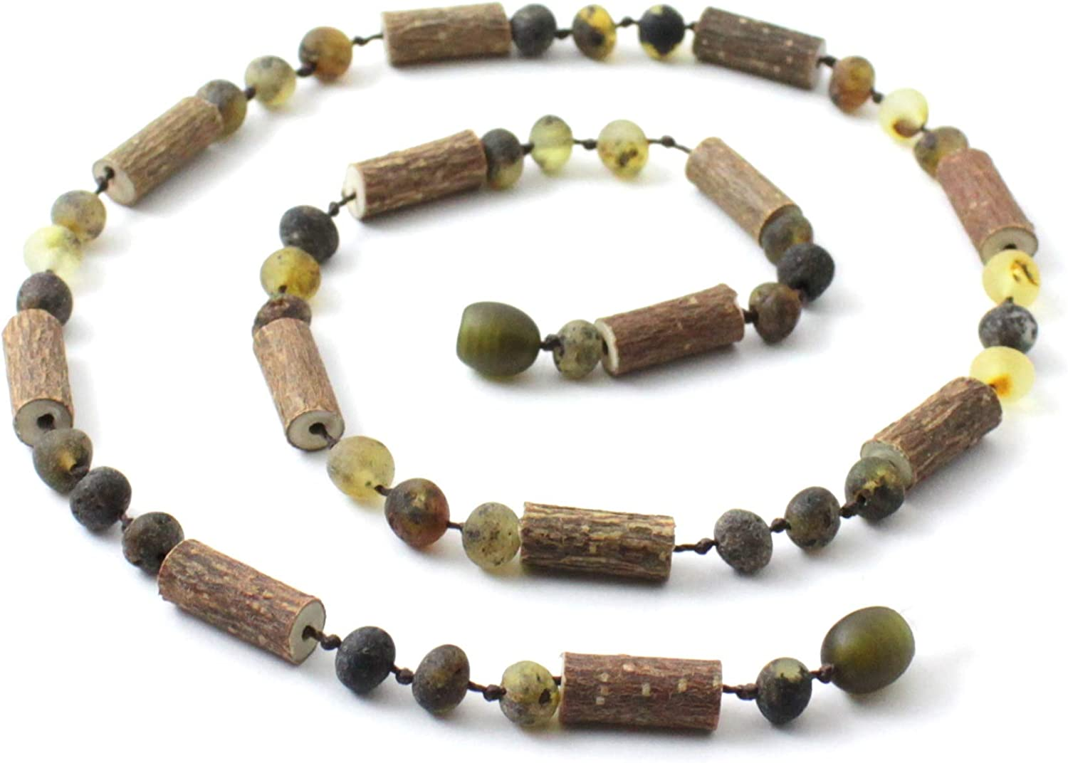 TipTopEco Max 60% OFF Unpolished Baltic Amber Ranking TOP5 and Adu Necklace for Hazelwood