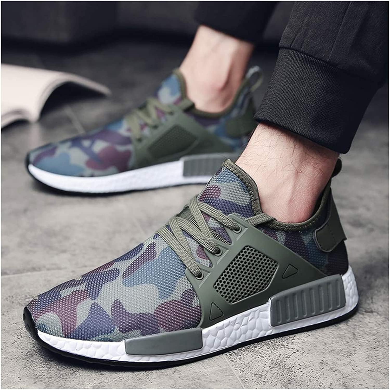 Four Seasons Men's shoes Breathable Sneakers, Fashion Casual Plate shoes Sports Running shoes,48