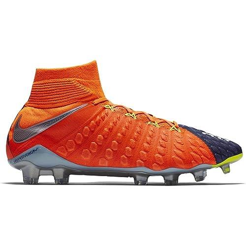 0b654194a290 Nike Men s Hypervenom Phantom III DF FG Soccer Cleat - (Deep Royal Blue  Chrome