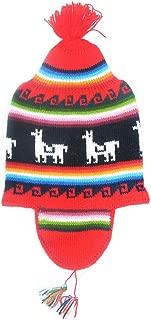 Alpaca Cap with Ear Flaps - Unisex Alpaca Cap - Alpaca Ski Hat