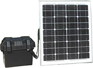 Tektrum Portable 500w (1000w Peak) Powerpack Power Source Station with 312Wh/26000mAh Battery, Solar Panel and Wall Charger - Power up TV, Laptop, Fan - Plug-N-Play (50w Solar Panel)
