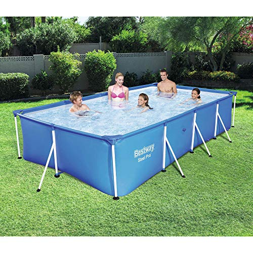 Bestway Pool Reviews - Bestway Steel Pro 13'X7'X32' Rectangular Above Ground Swimming Pool
