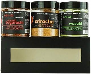 Sponsored Ad - Yoshi Asian Spices Value Gift Box, 3 Pack - Nanami Togarashi, Sriracha Seasoning, & Wasabi Powder | Authent...