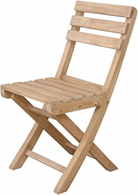 Anderson Teak Alabama Folding Chair (Pair), Dupione Bamboo