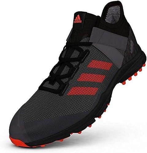 Adidas , Chaussures de Hockey sur Gazon pour Homme - Noir - Noir, 38 2 3 EU