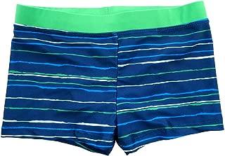 Kids Boys Swimming Trunks Swim Boxer Shorts Underpants Stripe