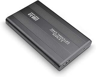 ハードディスク 外付けHDD USB3.0 外付けハードディスク ポータブルHDD PS4/ Mac/PC/Xbox/テレビ対応(2TB, 黒)