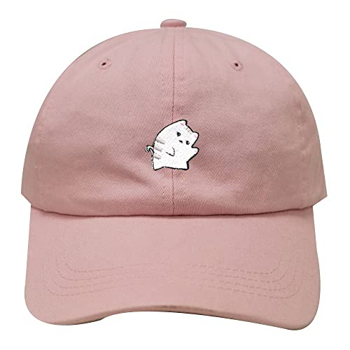 City Hunter C104 Cute Cat Cotton Baseball Dad Cap 25 Colors 648bc98848e