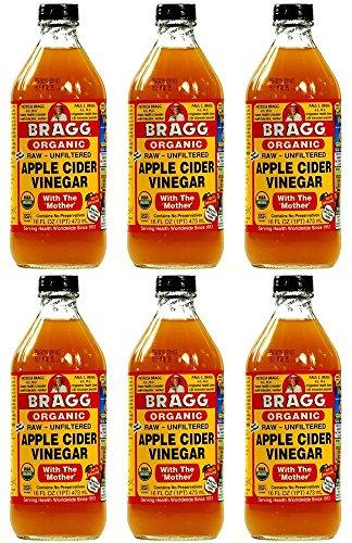 Braggs Organic Apple Cider Vinegar 473 ml (Pack of 6)