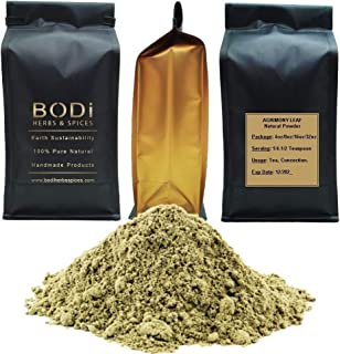 BODi : Agrimony Leaf - 100% Pure Natural Powder (4 8 16 32 oz) Diuretic Digestion Inflammation (8 oz)