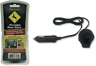 AAA Communications Car Deer Alert/Auto Deer Whistle Horn - Portable Electronic Whistles Avoid Vehicle Accidents
