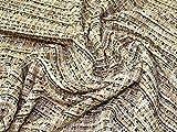 Minerva Crafts Chanel Tweed Beschichtungsstoff, Goldfarben, Meterware