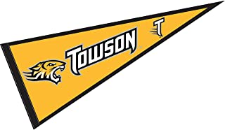 College Flags and Banners Co. Towson University Pennant Full Size Felt