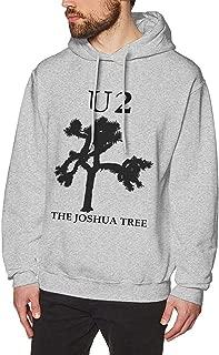 Men's Hoodie Sweatshirt U2 Joshua Tree Cotton Hoodie Gray Sweatershirt