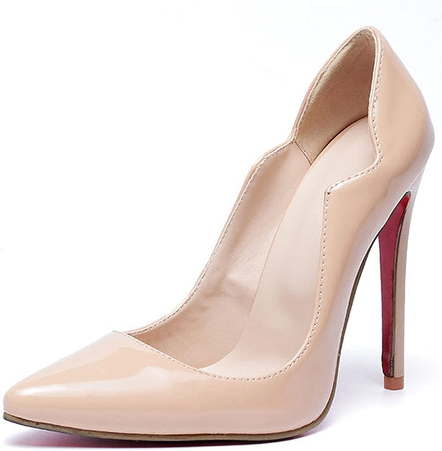 Quality.A Shallow-Mouthed Sexy Stilettos Pointed Toe shoes Professional high Heels