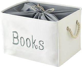 Genug Panier de rangement pour livres pour enfants Grand format Kallax Boîte de rangement pour chambre d'enfant
