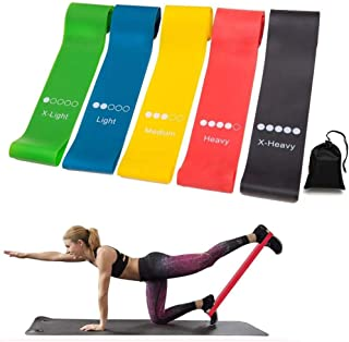 Resistance Loop Bands, Resistance Exercise Bands, Physical Therapy, Natural Latex Workout Bands, Indoor Outdoor Fitness Eq...