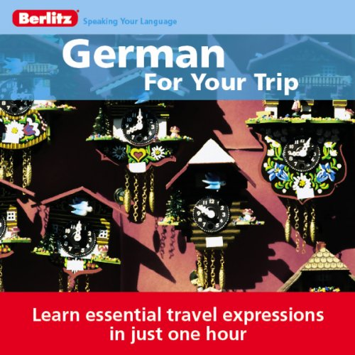 German for Your Trip audiobook cover art