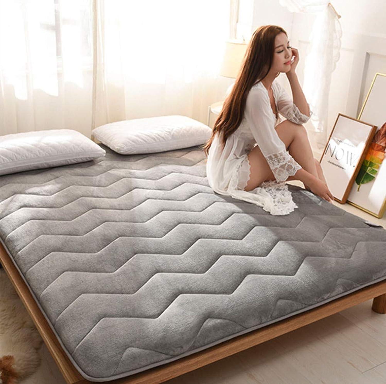 Thickened Mattress,Tatami Floor mat Keep Warm Non-Slip Mattress pad Cover Twin Full Queen King-A 90x190cm(35x75inch)