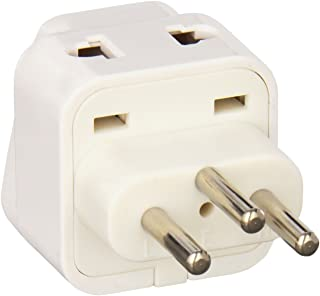 CKITZE BA-11AN Grounded Universal 2 in 1 Plug Adapter Type J for Switzerland & more - CE Certified