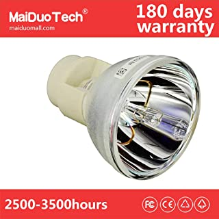 MaiDuoTech Replacement Compatible Projector Bare Bulb for Benq 5J.JEE05.001 for BenQ HT2050 HT3050 HT2150ST HT4050 W2000 Benq Projectors.