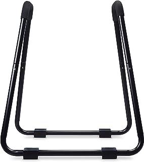 Amazon Basics Barre à dips pour entraînement de fitness - 87 x 82,5 x 97,5 cm, Noir