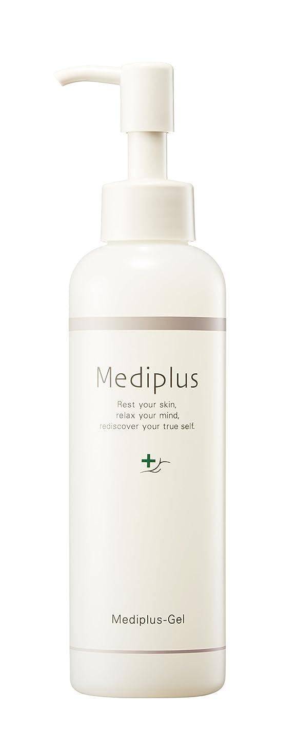 あたり調停する終わり【Mediplus+】 メディプラスゲル オールインワン ゲル 180g [ セラミド 保湿 美容液 ]