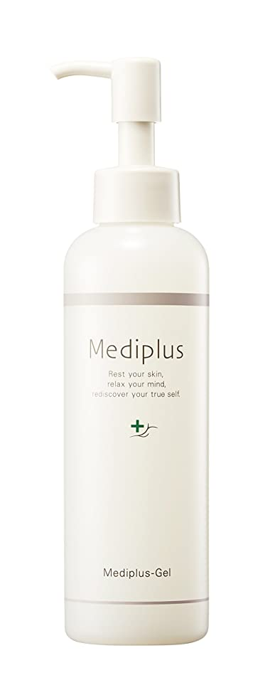 熱狂的なビン懐【Mediplus+】 メディプラスゲル オールインワン ゲル 180g [ セラミド 保湿 美容液 ]