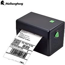 Meihengtong MHT-DT108B Label Printer, Desktop Thermal Label Printer for BarCodes, Labels, Print Width of 2-4 in, USB Port Connectivity for Windows PC (USB)