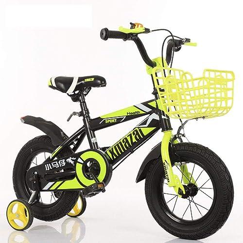 WY-Tong Bicicleta Infantil Bicicletas Infantiles Hombre y niña Universal Plegable Bicicleta de la Bici con la Bici de estabilizador