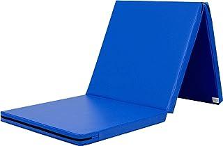 KaRaDaStyle 体操 マット ヨガ トレーニング 折りたたみ 防音 プレイマット スポーツマット 180×60×5cm