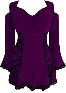 Dare to Wear Temptation Corset Top: Victorian Gothic Romantic Women's Sexy Tunic for Everyday Halloween Cosplay Festivals