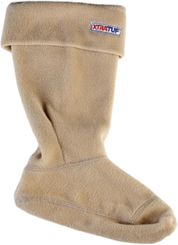 Xtratuf 28116-BRN-LRG Women's Fleece Liners, Tan (28116), Large, Beige