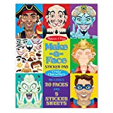 Melissa & Doug Crazy Characters Make-a-Face Sticker Pad