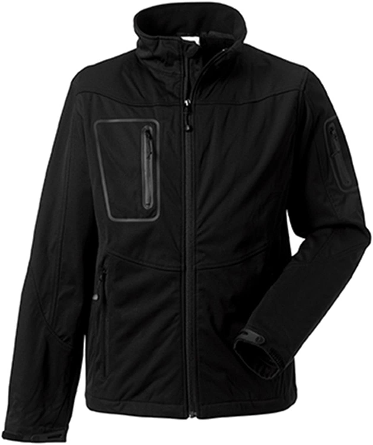Russell Mens Sport Shell 5000 Jacket Colour=Black Size=L