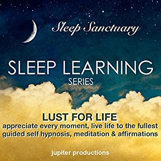 Lust for Life, Appreciate Every Moment, Live Life to the Fullest: Sleep Learning cover art