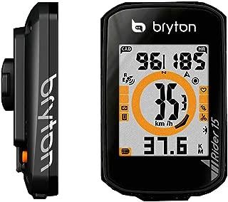 Bryton Computer Rider 15C GPS w/CADENCESENSOR BK