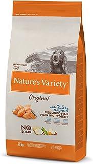 True Instinct No Grain - Nature's Variety - Pienso sin Cereales para Perro Adult Medium-Maxi con Salmón - 12kg