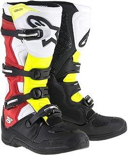 Alpinestars Tech 5 Boots-Black Red Yellow-7 4dc6c1e7e4