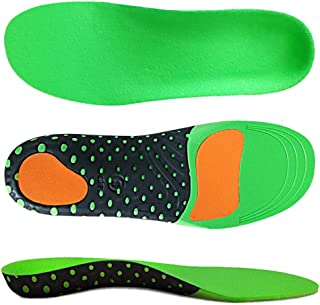 Vsonker for Arch Support Insoles, Flat Feet, Plantar Fasciitis Orthotic Inserts with Gel Sports Comfort Best Shock Absorption Breathable Insole for Men and Women, M(Men's 8-10.5/Women 9-11.5)