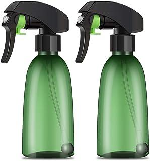 2pcs 6.8oz Upside Down Spray Bottle, Segbeauty 200ml All-angle Transparent Fine Mist Spray Bottles, Plastic Leak-proof Ref...