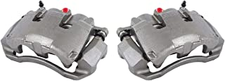 CCK11670 [2] FRONT [ 2WD 4WD ] Premium Grade OE Semi-Loaded Caliper Assembly Pair Set