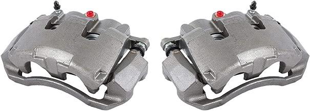 CCK11670 [2] FRONT [ 2WD 4WD ] Premium Grade OE Semi-Loaded Caliper Assembly Pair Set